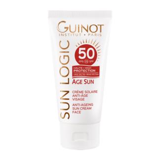 Guinot Sun Logic Age Sun Creme Solaire Anti-Age Visage SPF50 fényvédő krém arcra