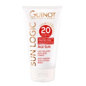 Guinot Sun Logic Age Sun Lait Solaire Anti-Age Corps SPF20