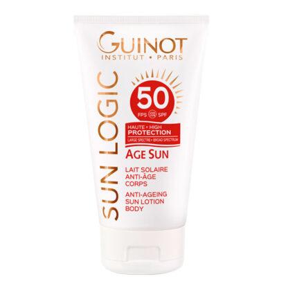 Guinot Sun Logic Age Sun Lait Solaire Anti-Age Corps SPF50